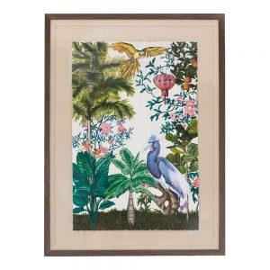 Exotic bird artwork