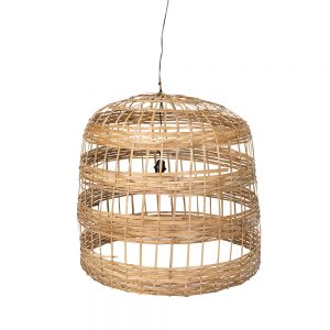 Large Bamboo Pendant Light
