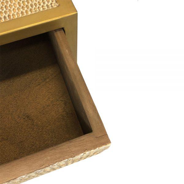 Banyan Brass Bedside