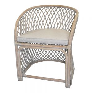 Fullerton Bay Chair - Whitewash